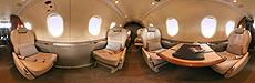 Visite virtuelle - Intérieur Pilatus PC12